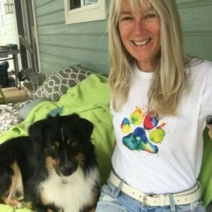 The Puppy Care Company - Paw Print T-shirt